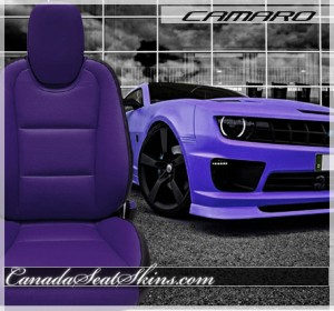 2010 - 2015 Chevrolet Camaro Leather Seats