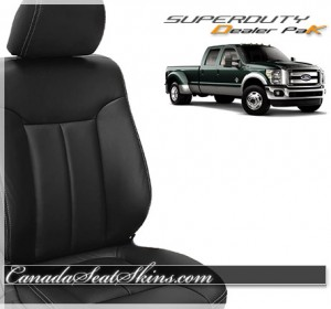 Ford Superduty Dealer Pak Leather Packages