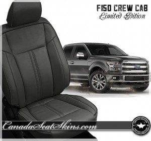 2015 - 2016 Ford F150 Limited Edition Leather Seats