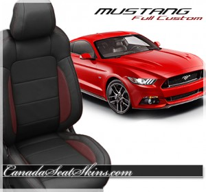 Ford Mustang Katzkin Leather Seats
