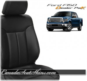 Ford F150 Leather Seat Dealer Package
