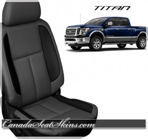 2016 Nissan Titan Black Leather Seats