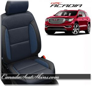 2017 GMC Acadia Blue Katzkin Leather Seats