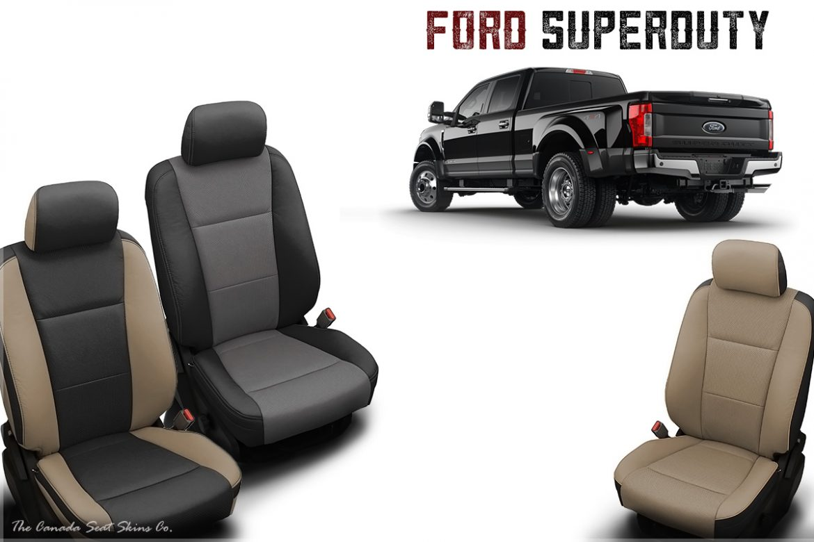 2017 Ford F250 F350 F450 Katzkin Leather Seats Announced
