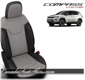 2018 Jeep Compass Black Alabaster Leather Seats