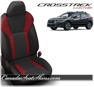 2018 Subaru Crosstrek Custom Red Leather Seats