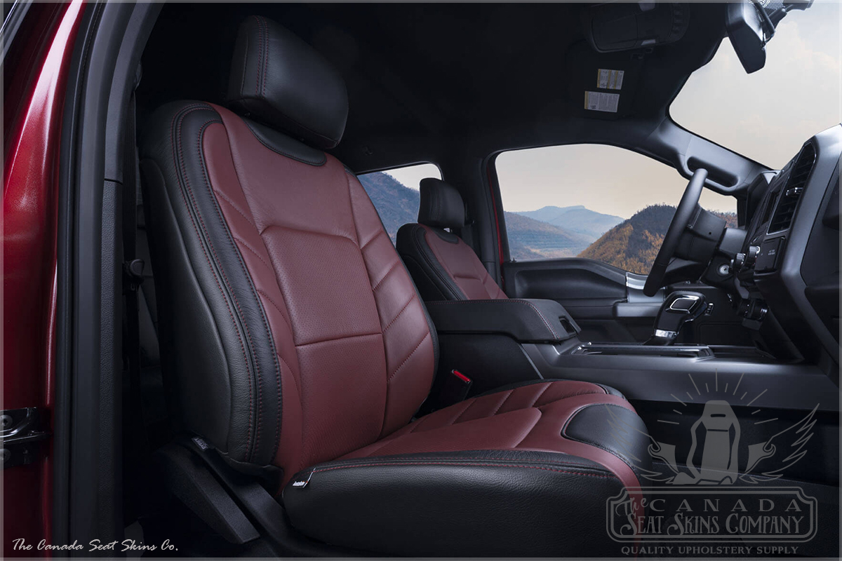 2015 2018 F150 Limited Edition Leather Conversions The Canada Seat Skins Company