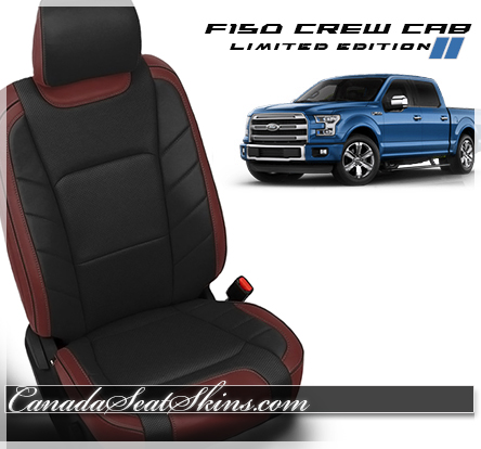 Order 2018 F150 Custom Leather Packages from The Canada Seat Skins Company