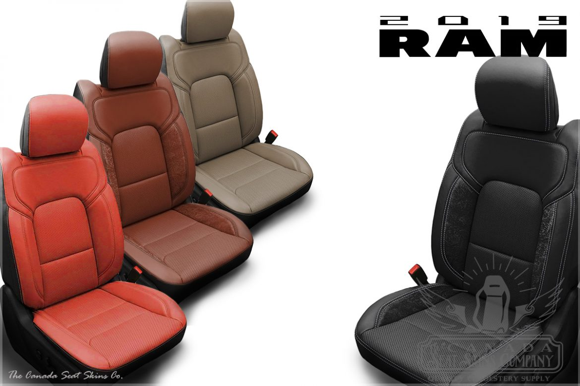 2019 Dodge Ram Katzkin Leather Upholstery Sales Sheet