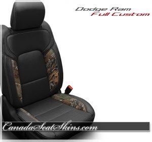 2019 Ram Camo Realtree Katzkin Leather Seats