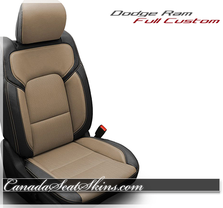 2019 Ram Tan Katzkin Leather Seats